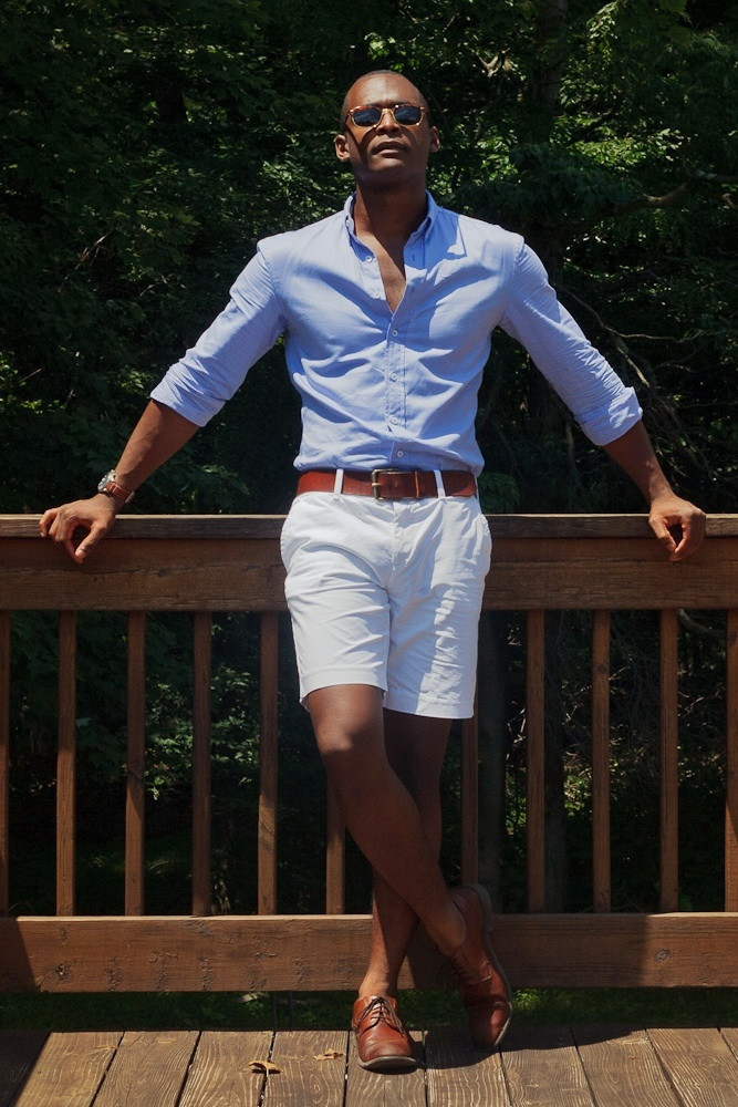 How to Wear White Shorts (105 looks) | Men's Fashion