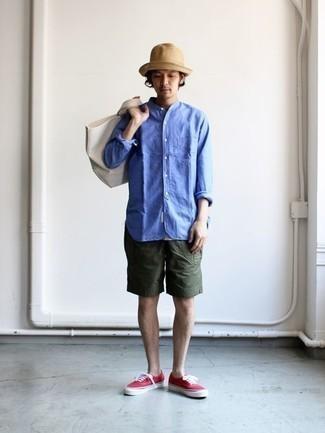 Beige Straw Maui Hat