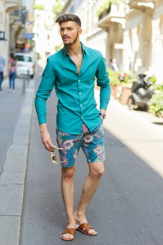 76940b7d017 How to Wear a Teal Shirt For Men (113 looks   outfits)