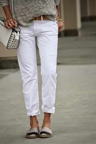 4834d7cba088 ... Women s Grey Long Sleeve T-shirt