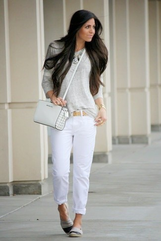 Long White Jeans - Xtellar Jeans