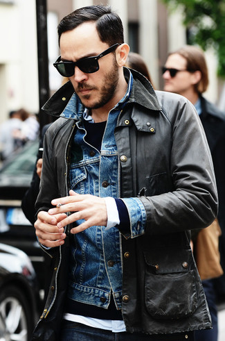 Ralph Lauren Denim Supply Buttoned Jacket