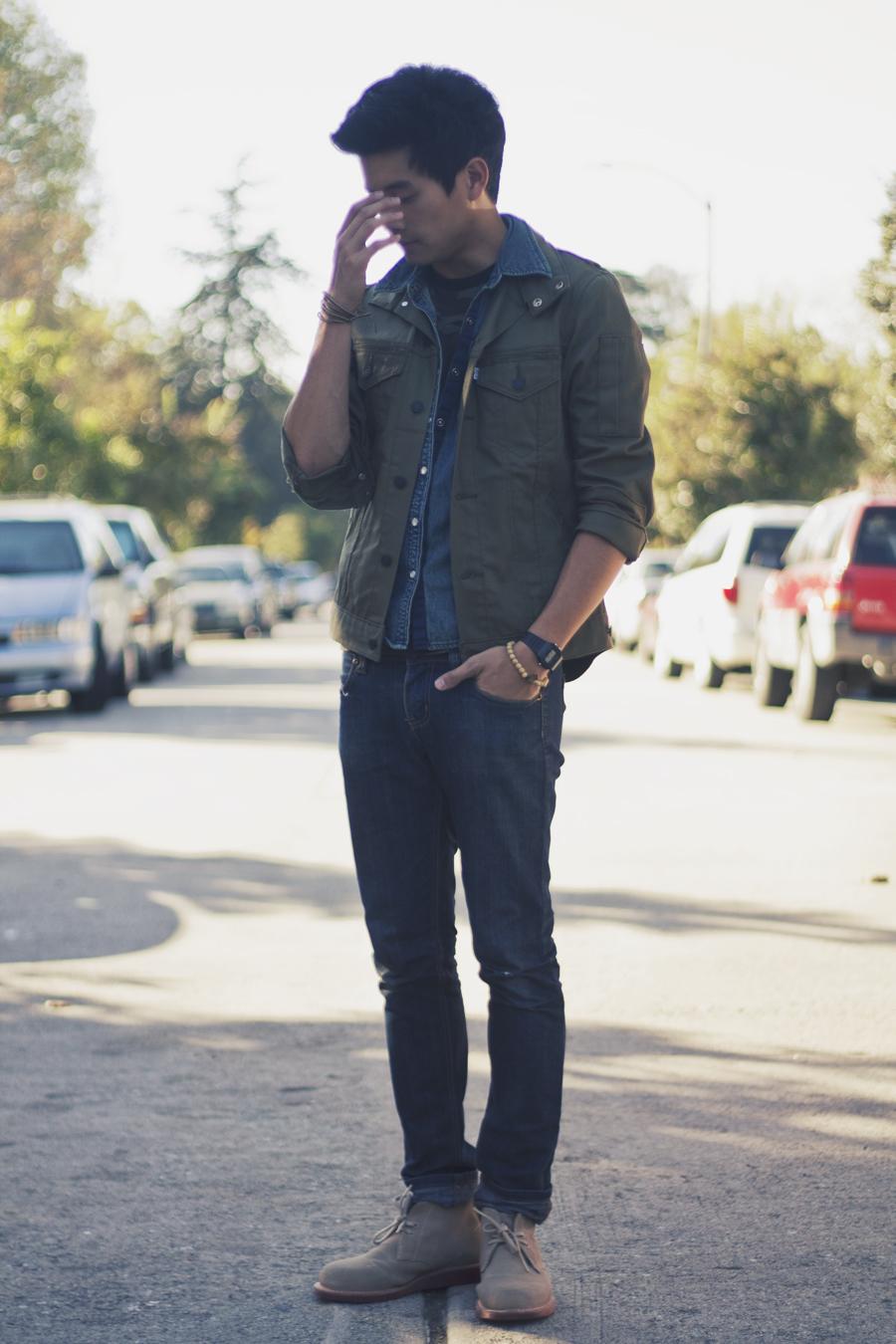 A$106   Calvin Klein Men\'s Ulysses Suede Chukka Boot $59.99 + ...