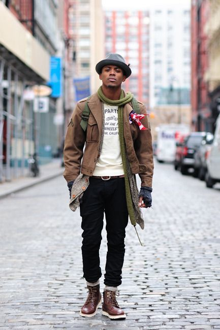 How To Wear Black Jeans With Dark Brown Leather Boots | Men&39s Fashion