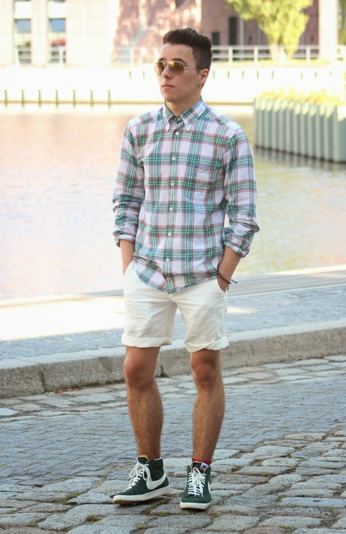 Looks Top To With Men10 High Shorts Which Wear Sneakers White For 5Aj4R3Lq