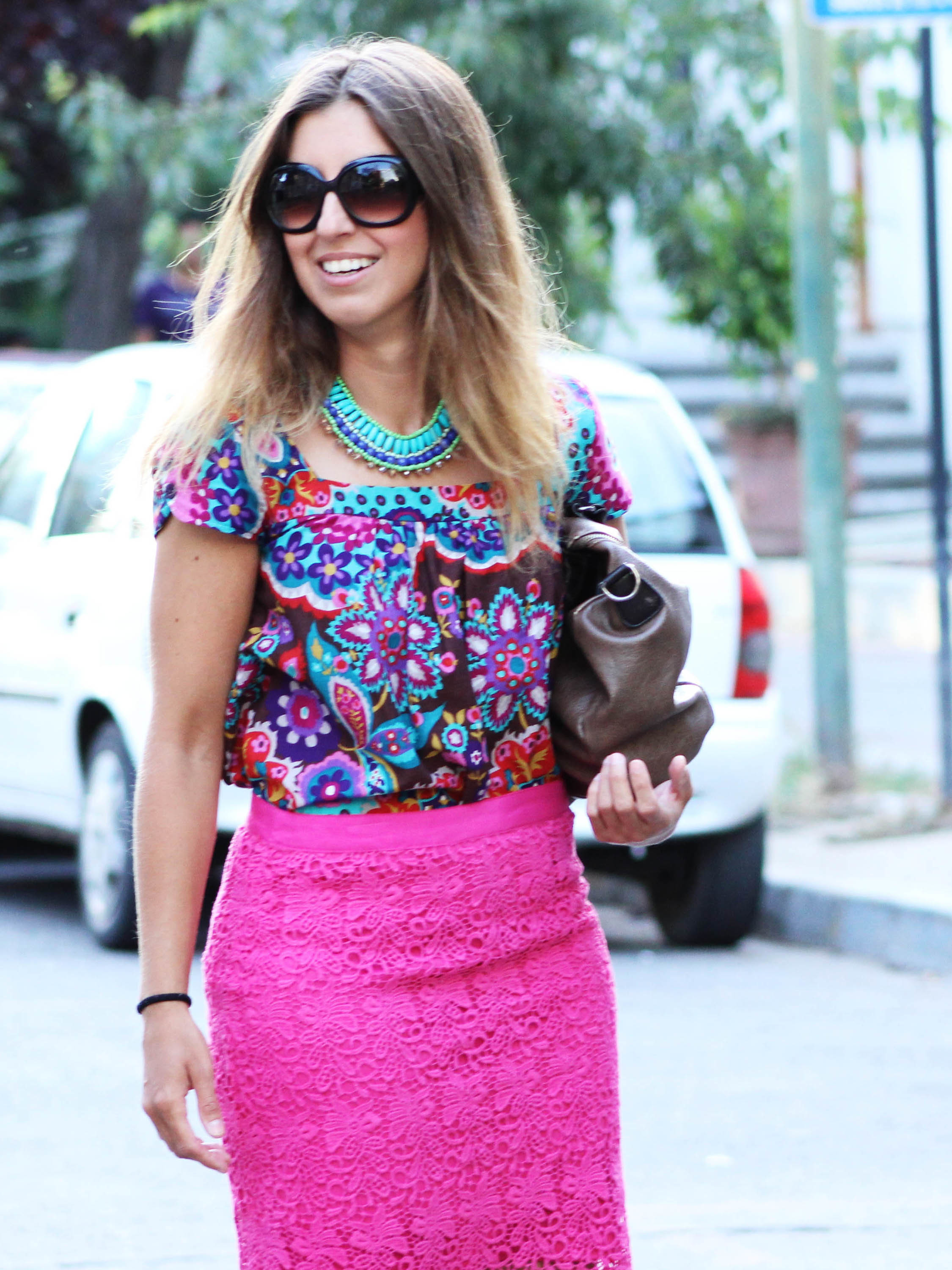 How to Wear a Hot Pink Pencil Skirt (34 looks) | Women's Fashion
