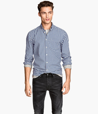 Shop Classic Fit Non Iron Gingham Dress Shirt
