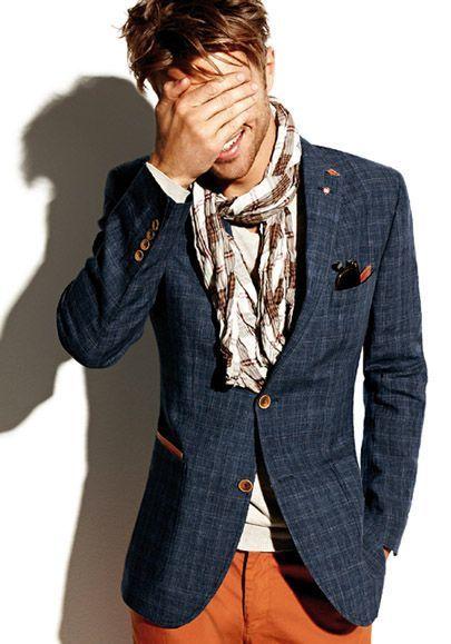 How to Wear a Navy Plaid Blazer (38 looks) | Men's Fashion
