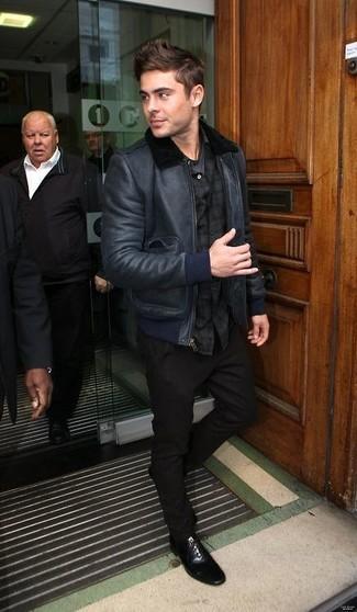 Michl Kors Leather Moto Jacket