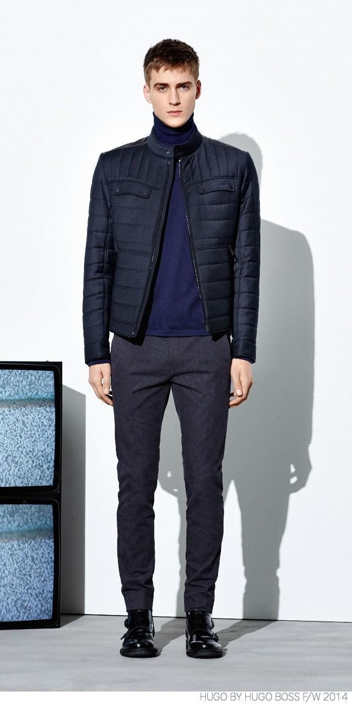 How To Wear A Navy Quilted Bomber Jacket 15 Looks Mens Fashion