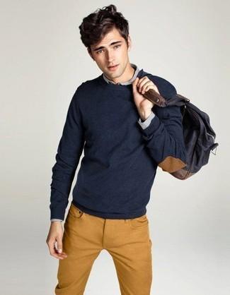 Wilberforce Regular Fit Wool Sweater