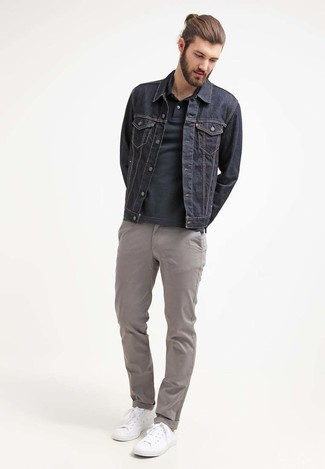 Lhomme Denim Jacket