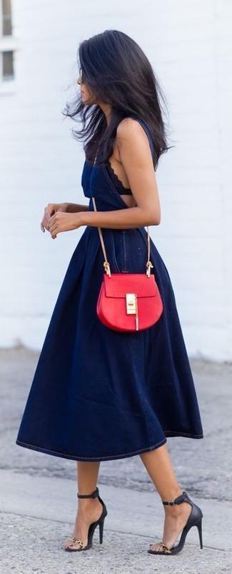 Bardot Indigo Denim Dress