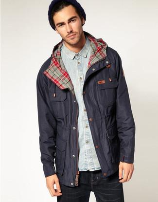 Sapper Regular Fit Waterproof Waxed Cotton Jacket