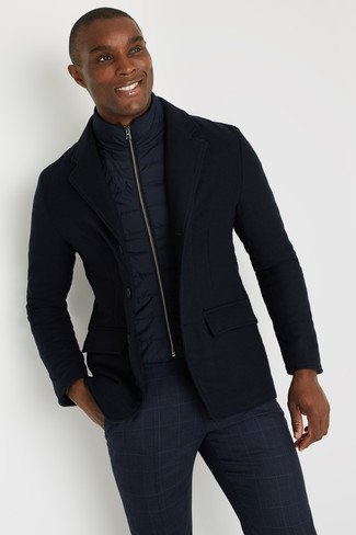 London Wool Jersey Blazer