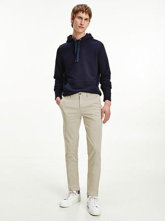 Navy Sportswear Club Hoodie