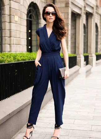 Multi Silk Draped Judo Jumpsuit