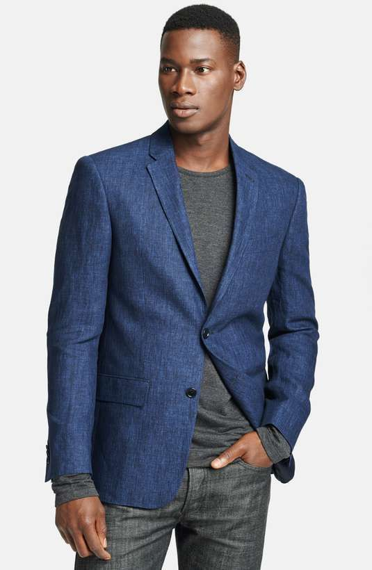 How to Wear a Navy Linen Blazer (9 looks) | Men's Fashion