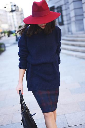 New York Wool Bow Hat