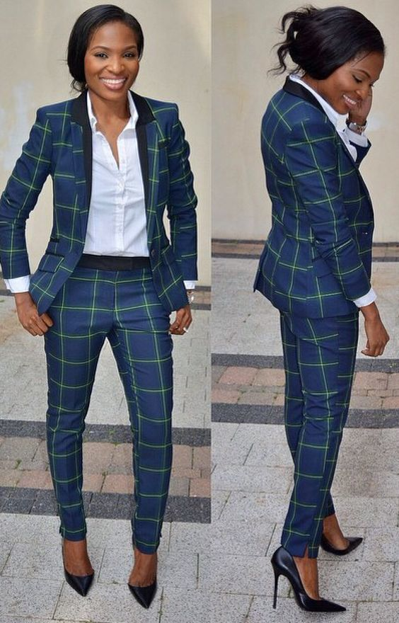 How To Wear A Navy Suit 6 Looks Outfits Women S Fashion