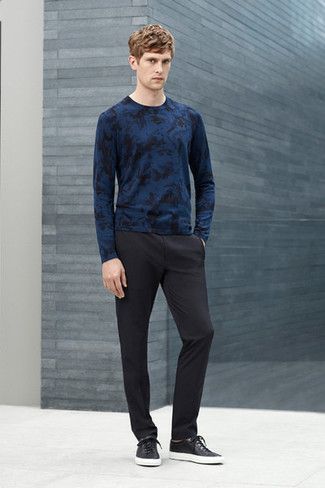Which Sweater To Wear With Black Dress Pants   Men's Fashion