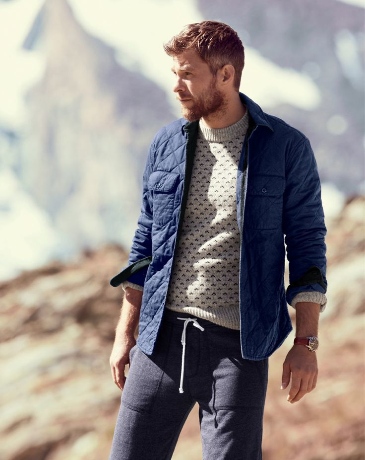 How to Wear a Navy Quilted Barn Jacket (4 looks) | Men's Fashion : mens quilted barn jacket - Adamdwight.com