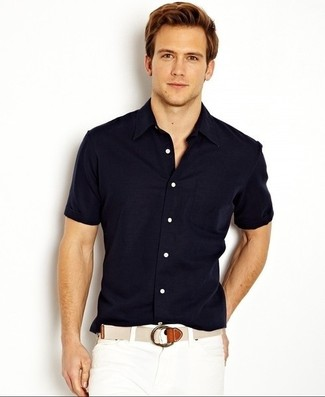 Muscle Fit Woven Shirt