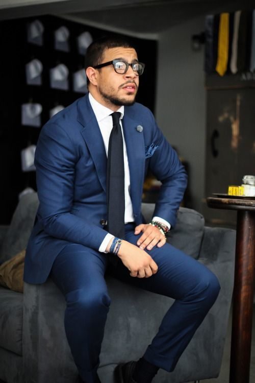 How to Wear a Navy Suit (336 looks) | Men's Fashion