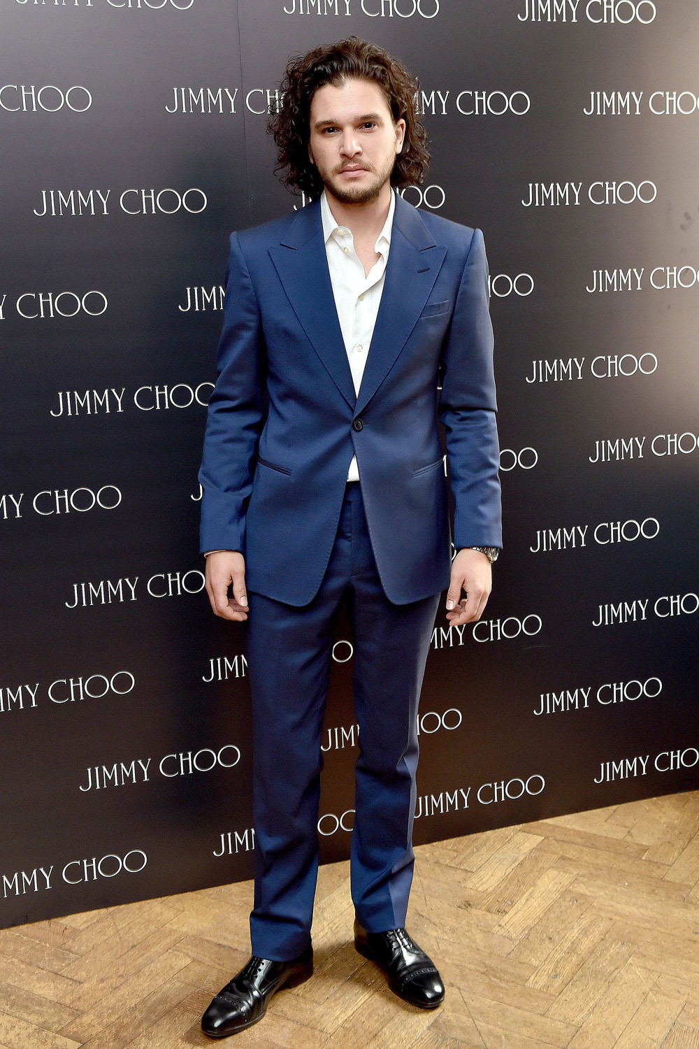 Navy suit with black dress yy for Jimmy choo mens shirts