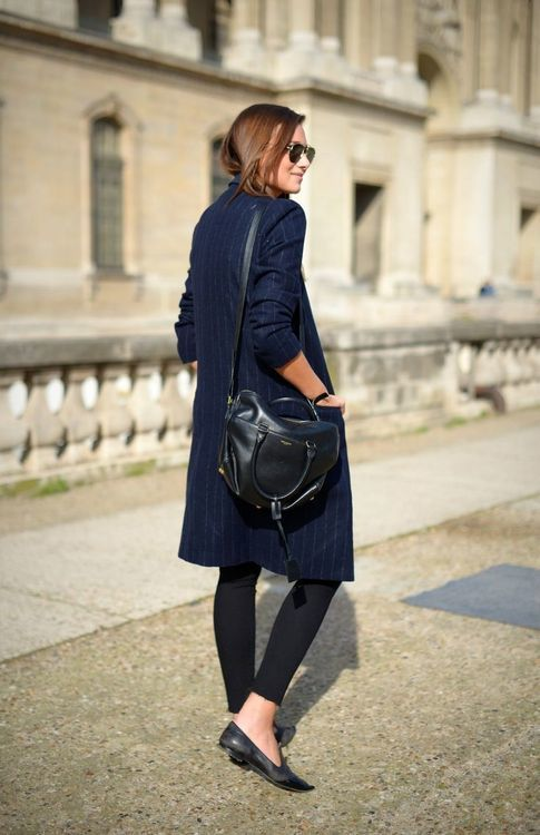 ee086aa57b0 How to Wear a Navy Trenchcoat For Women (22 looks   outfits ...
