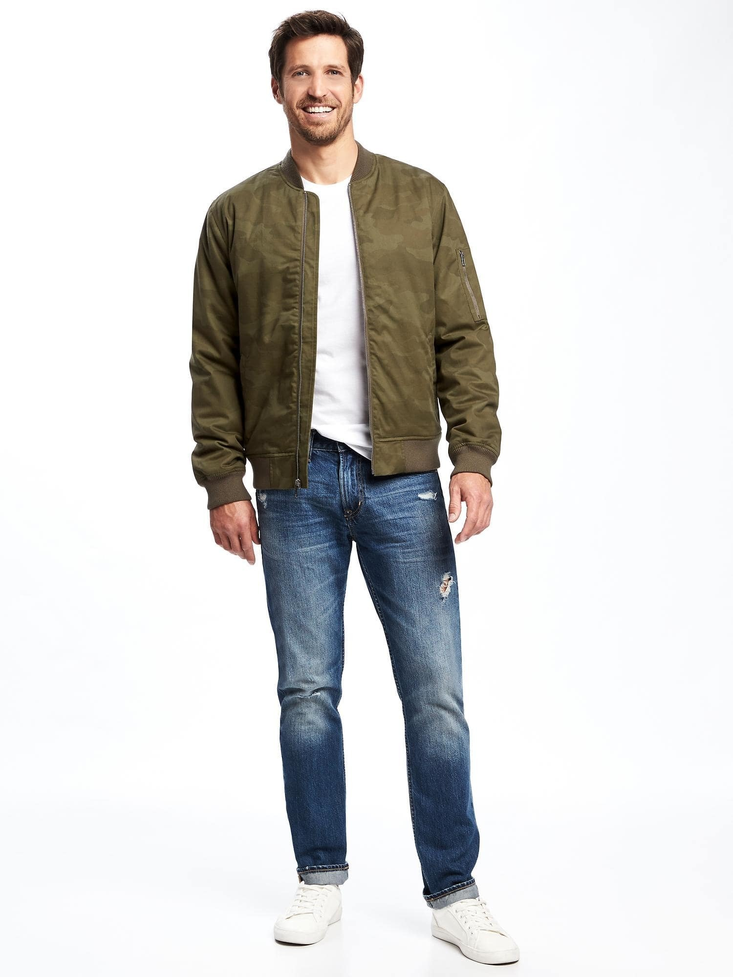 Combination Bomber Jacket | Jackets Review