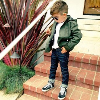 Toddlers Little Boys Slim Fitting Jeans