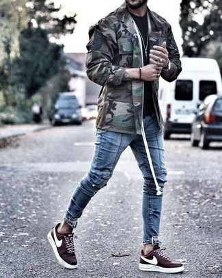 c122e0865218d7 How to Wear Burgundy Sneakers For Men (122 looks   outfits)