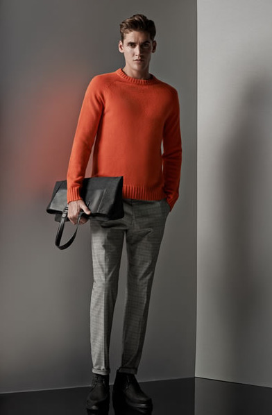 Grey Dress Pants And Sweater