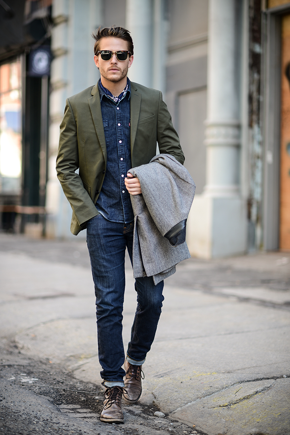How to Wear an Olive Blazer (120 looks) | Men's Fashion