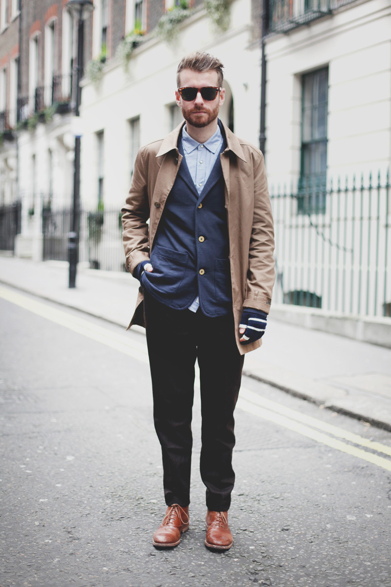 How To Wear a Navy Blazer With Brown Boots | Men&39s Fashion