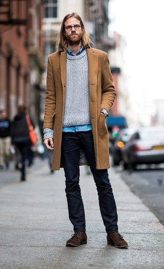 10 Camel Overcoat Outfit Ideas Men S Fashion Lookastic Com