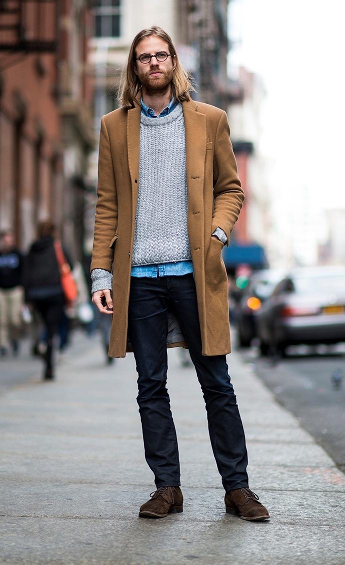 Camel Overcoat | Men's Fashion