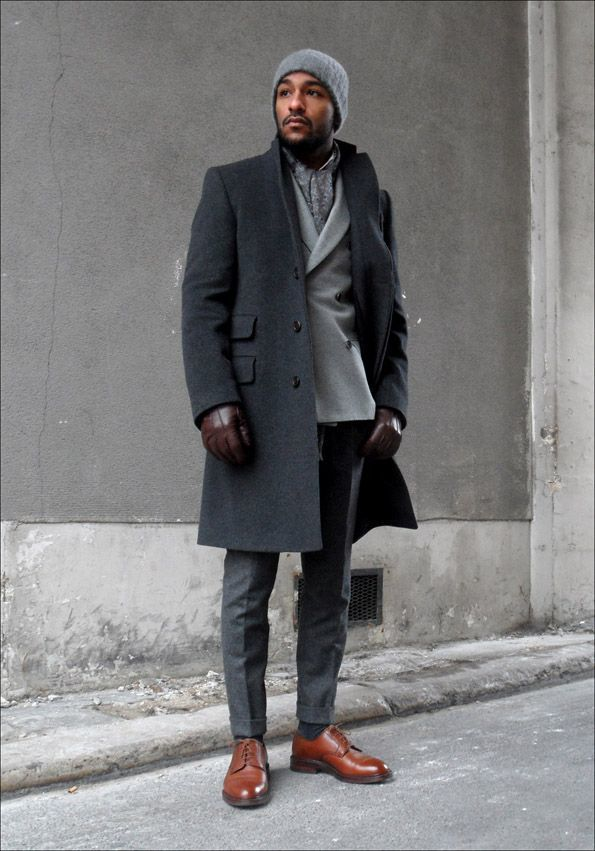 Wonderful 25 Ideas On Gray Pants And Brown Shoes  Super Combinations That