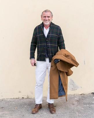 Douglas Modern Fit Wool Cashmere Overcoat