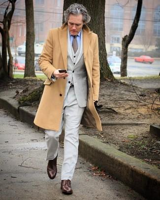 Swish Wool Cashmere Overcoat