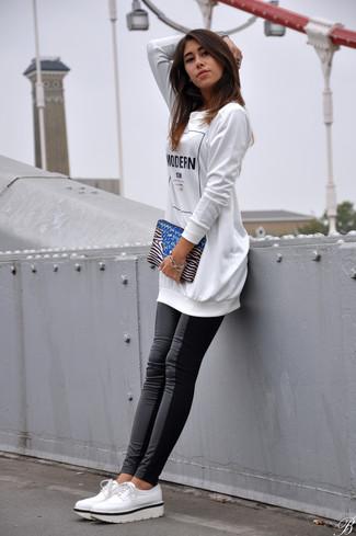 Gemma High Waist Faux Leather Leggings