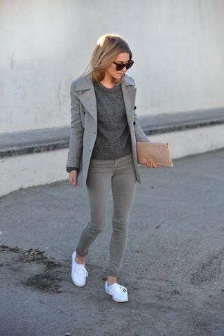 How to Wear a Pea Coat (81 looks)   Women&39s Fashion