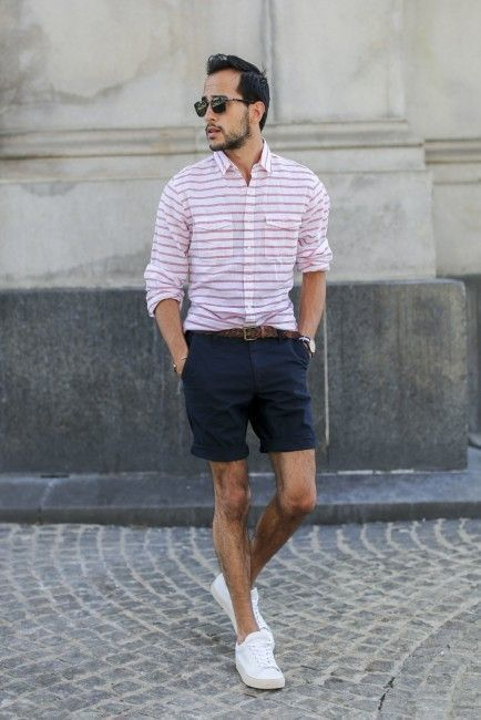 How to Wear a White and Pink Shirt (136 looks) | Men's Fashion