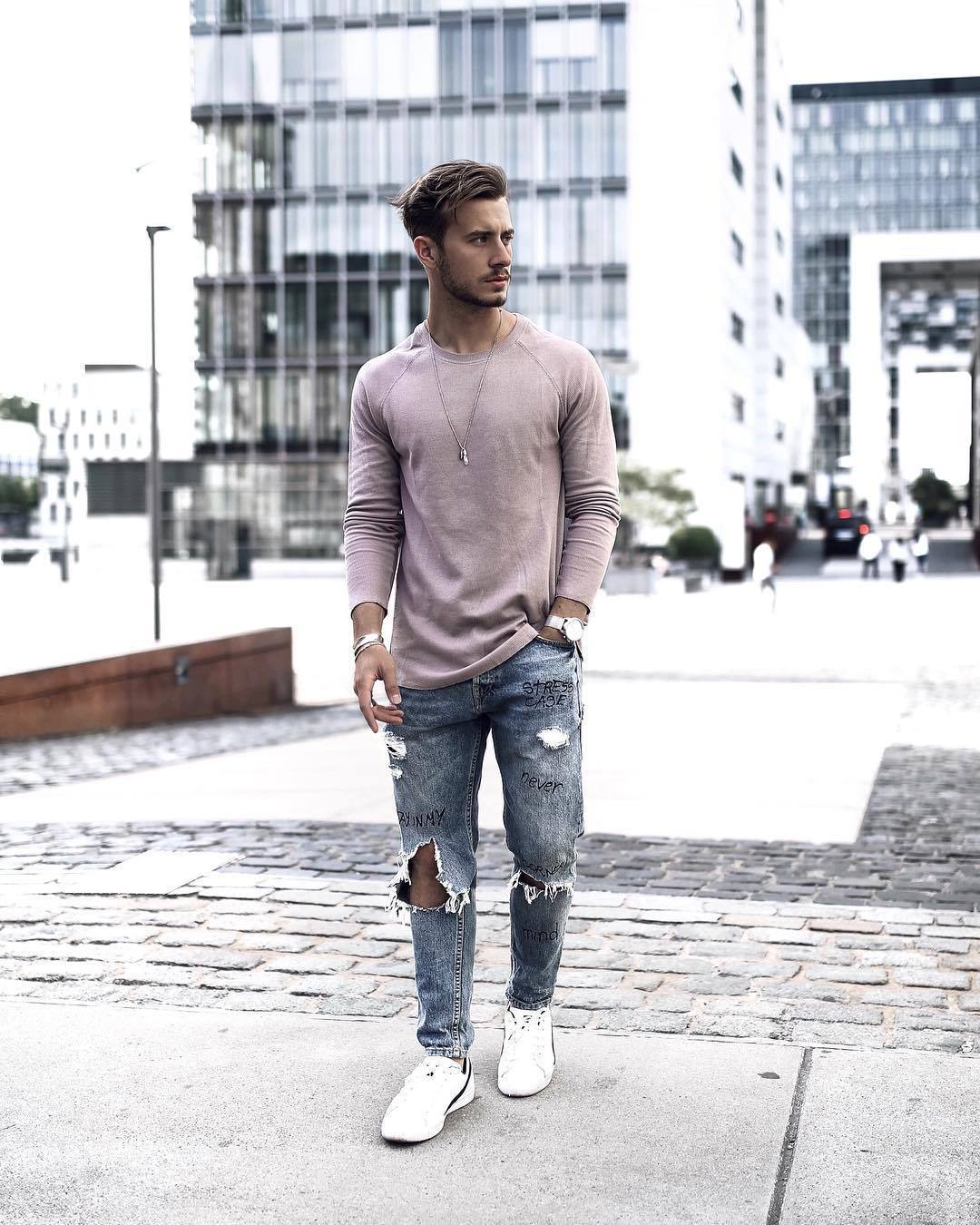 White T Shirt Mens Fashion