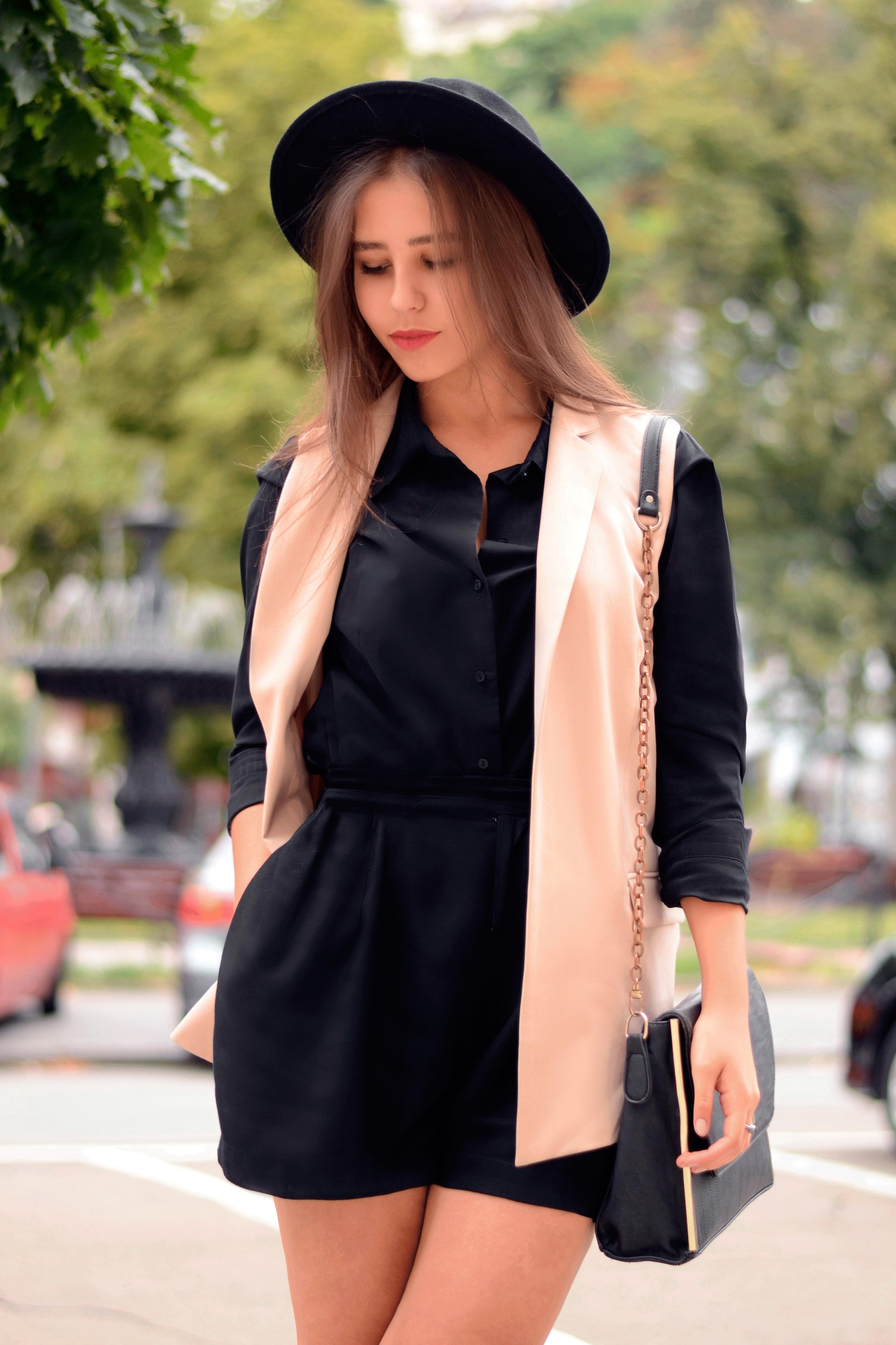 027fb8535617d Women s Pink Sleeveless Blazer