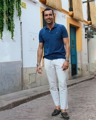 Blue Polo Outfits For Men (425 ideas & outfits) | Lookastic