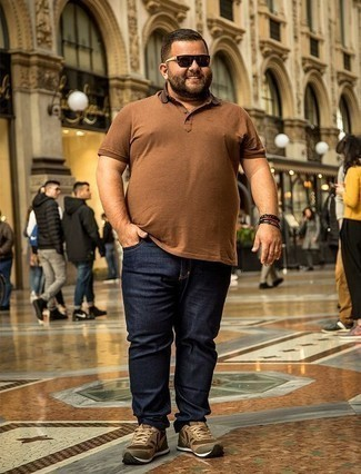 Printed Interior Slim Fit Jeans