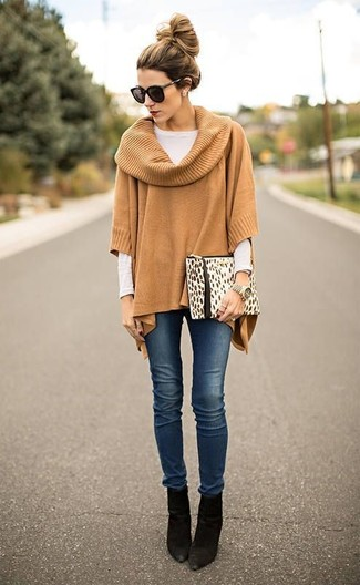 203bcb3232bc How To Wear a Poncho  10 Ways To Pull Off The Poncho Look