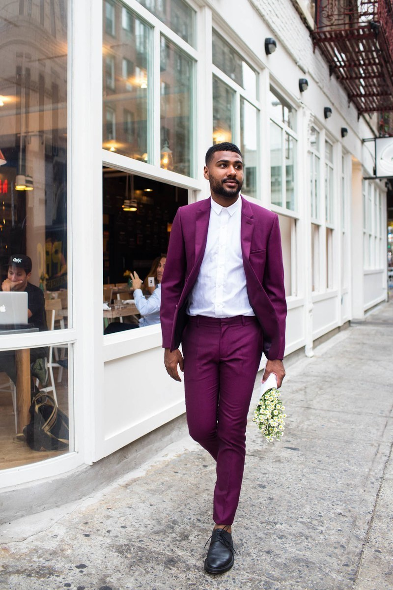 What color shoes to wear with plum dress